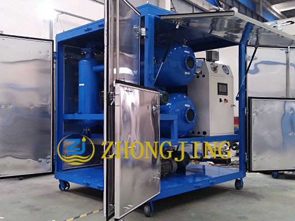 Vacuum oil filling process of ZYD-100 transformer o