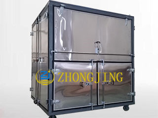 Closed hydraulic oil purifier