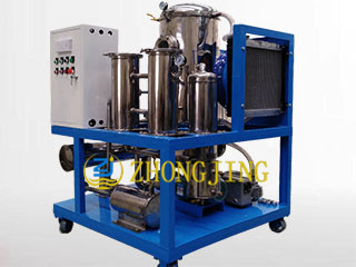 Stainless steel hydraulic oil purifier