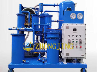 Hydraulic oil explosion proof vacuum oil purifier