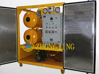 Explosion proof insulating oil purifier