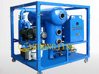 DZL double stage insulating oil vacuum purifier