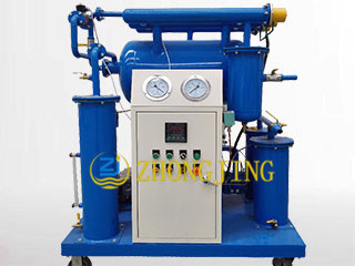 ZY single stage insulating oil vacuum purifier