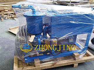50(3000L) small portable oil filter cart in packing