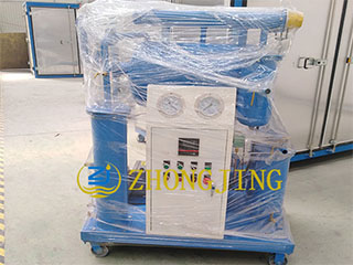 ZY30(1800L) single-stage vacuum oil purifier packed