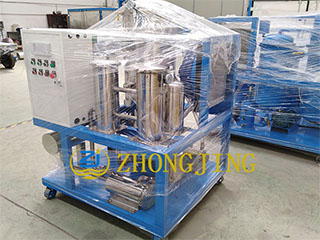 TY100(6000L) turbine oil vacuum oil purifier packed
