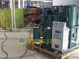 The oil purifier of hydraulic oil station system kn
